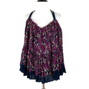 Free People Floral Top Size XS / S